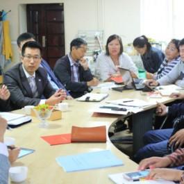 몽골 울란바타르시 장애인 보장구 교육 현장 조사